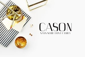 Cason Sans Serif 5 Font Family