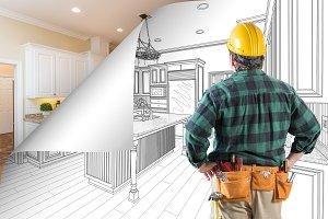 Contractor, Page Corner Flip Kitchen