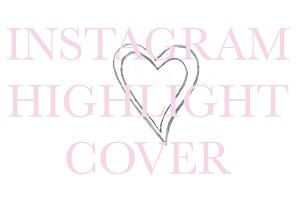 Instagram Highlight Cover Icon Heart