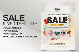 Big Sale - PSD Flyer Template