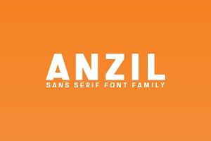 Anzil Sans Serif 5 Font Family