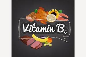 Vitamin B6 Banner