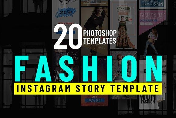 Fashion Shopping Instagram Stories
