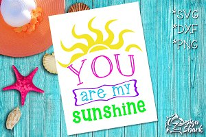 My Sunshine SVG/DXF/PNG
