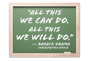 President Obama Inauguration Quote