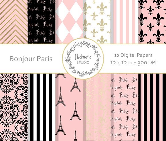 French Digital Paper