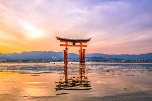 Miyajima, The famous Floating Torii