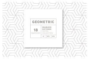 18 Geometric Seamless Patterns vol.3