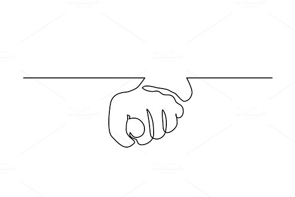 Hand With Fingers Folded In Fig