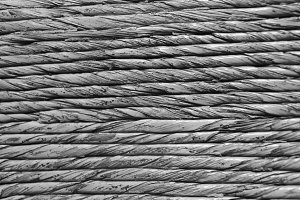 Ropes Detail Background Black White