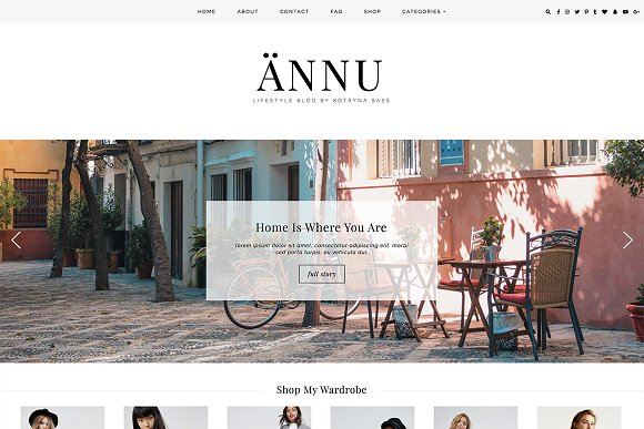 WordPress Theme NNU
