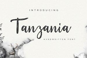 Tanzania Script Font