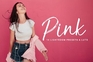 Pink Lightroom Presets and LUTs