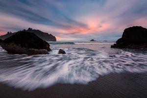 A Classic Sunset Seascape