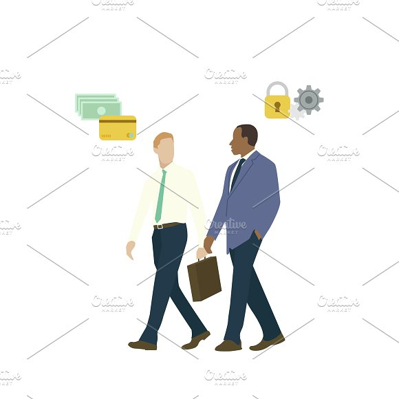 Illustration Of Business Men