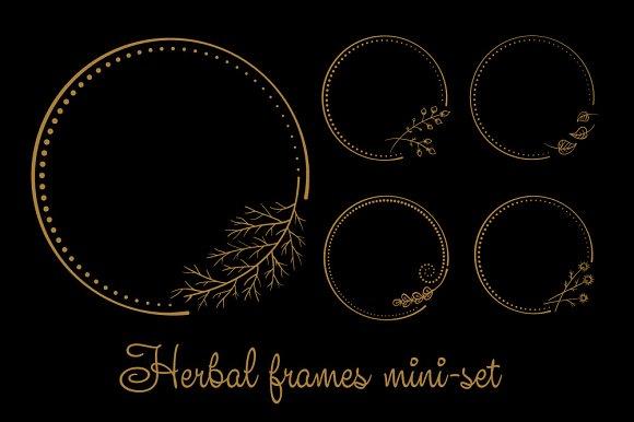 Herbal Frames Mini-set
