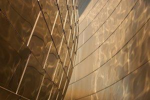 Golden Metal Texture