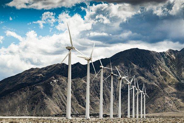 Industrial Stock Photos: Adam  - Windmills