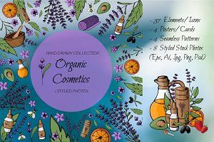 Spa, Organic Cosmetics collection