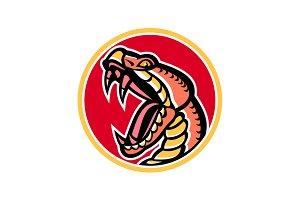 Copperhead Snake Mascot