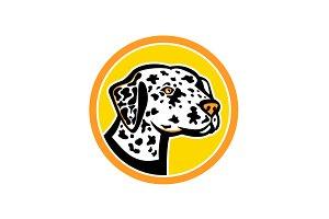 Dalmatian Dog Mascot