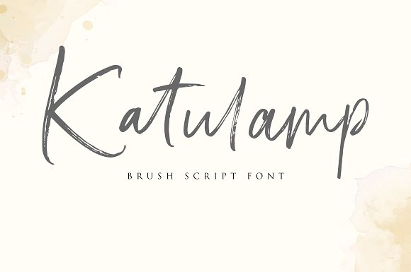 Katulamp Font Duo
