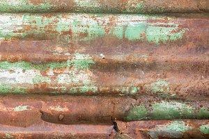 Roller shutter rusty