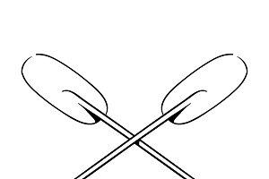 Illustration of paddle