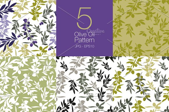 Olive Patterns Set
