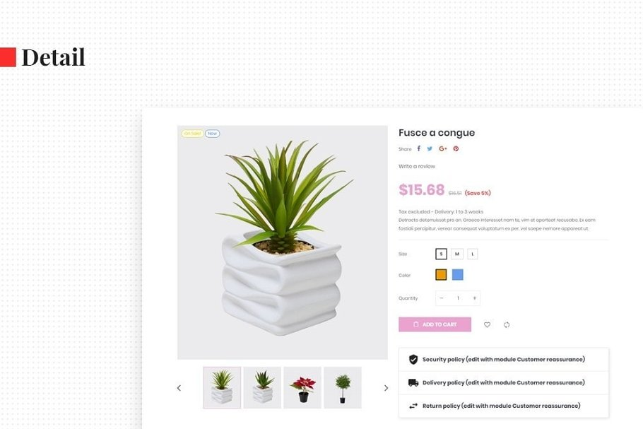 Leo Florist in Bootstrap Themes - product preview 6