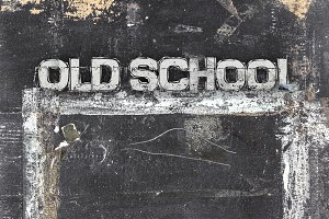 Chalkboard old school