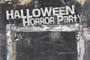 Halloween horror menu