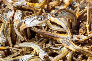 Japanese dried infant sardines