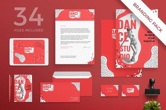 Branding Pack Dance Studio