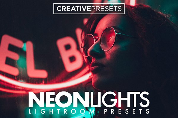 Actions: CreativePresets.com - Neon Lights Lightroom Presets
