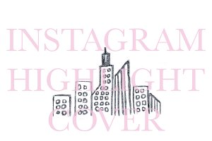 Instagram Highlight Cover Cityscape