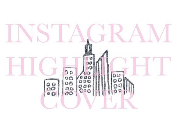 Instagram Highlight Cover Cityscape