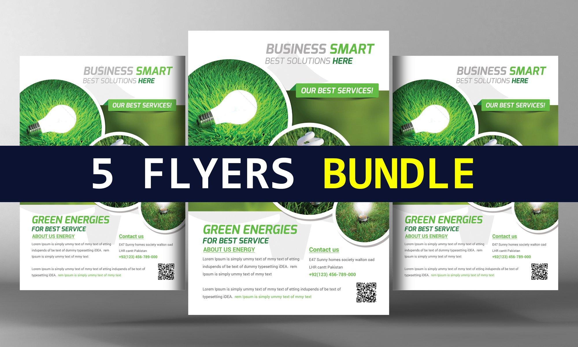 5 clean creative business flyers flyer templates creative market fandeluxe Images