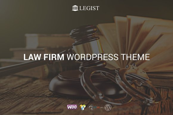 Legist Law Firm WordPress Theme