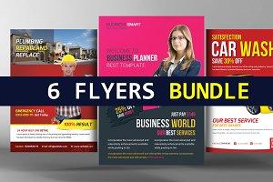 6 Business Flyers Bundle