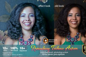 Retouching Technic Action