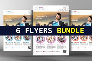 6 State of the Art Business Flyers