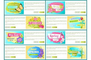 Spring Big Sale -50 Off Advertisement Label Tulip