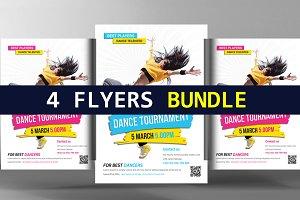 4 Business Flyer Bundle