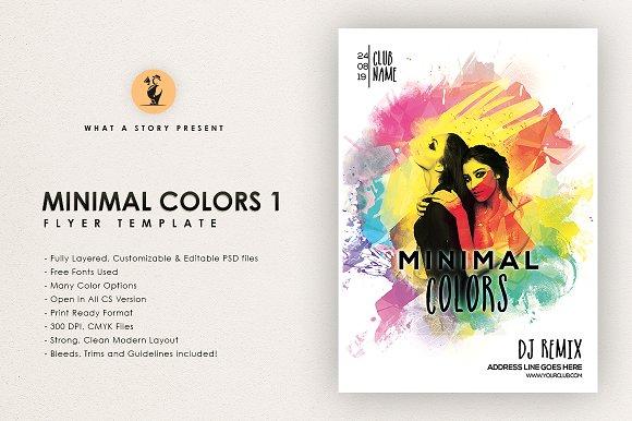Minimal Colors