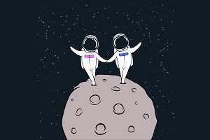 love story of astronauts