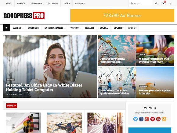 GoodPress Pro Magazine Theme