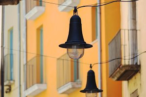 Street lamps, old town Girona