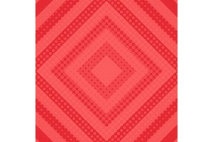 Red halftone background vector illustration