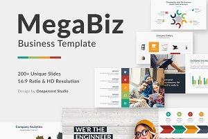Mega Biz Multipurpose Google Slide